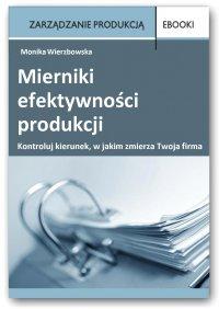 Mierniki efektywności produkcji