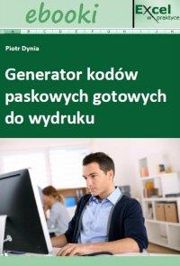 Generator kodów paskowych gotowych do wydruku