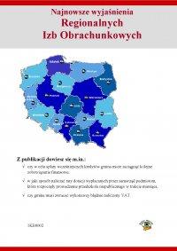 Najnowsze wyjaśnienia Regionalnych Izb Obrachunkowych