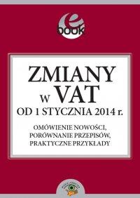 Zmiany w VAT od 1 stycznia 2014 roku