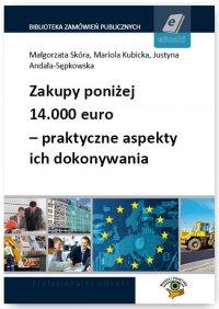 Zakupy poniżej 14.000 euro – praktyczne aspekty ich dokonywania