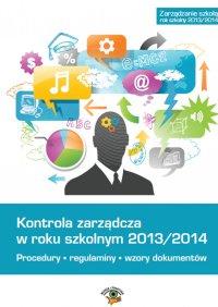 Kontrola zarządcza w roku szkolnym 2013/2014