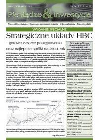 Strategiczne układy HBC – gotowe wzorce postępowania oraz najlepsze spółki na 2014 rok