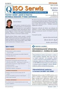 ISO Serwis. Wszystko o normach i systemach zarządzania jakością. Nr 3/2014