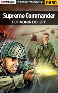 Supreme Commander - poradnik do gry - Maciej Jałowiec - ebook