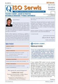 ISO Serwis. Wszystko o normach i systemach zarządzania jakością. Nr 4/2014