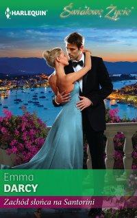 Zachód słońca na Santorini - Emma Darcy - ebook