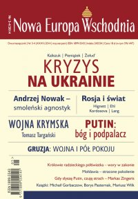 Nowa Europa Wschodnia 3-4/2014 - Andrzej Brzeziecki - eprasa