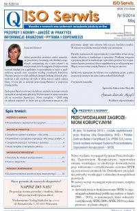 ISO Serwis. Wszystko o normach i systemach zarządzania jakością. Nr 5/2014