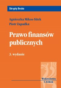 Prawo finansów publicznych. Wydanie 3