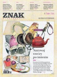 Miesięcznik Znak. Lipiec-Sierpień 2014