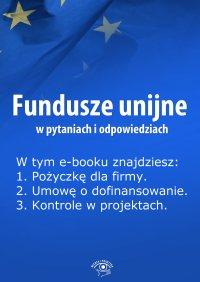 Fundusze unijne w pytaniach i odpowiedziach. Wydanie kwiecień 2014 r.