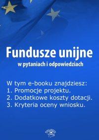 Fundusze unijne w pytaniach i odpowiedziach. Wydanie czerwiec 2014 r.