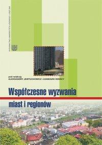 Współczesne wyzwania miast i regionów - Aleksandra Jewtuchowicz - ebook