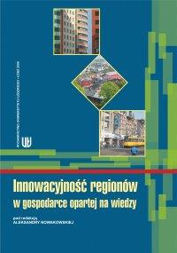 Innowacyjność regionów w gospodarce opartej na wiedzy