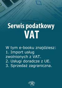 Serwis podatkowy VAT. Wydanie marzec 2014 r.