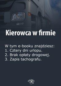 Kierowca w firmie. Wydanie kwiecień 2014 r.