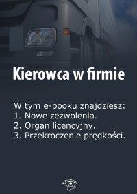 Kierowca w firmie. Wydanie maj 2014 r.