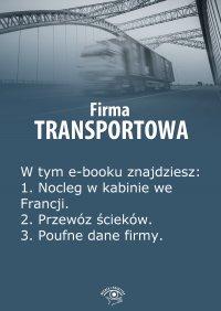 Firma transportowa. Wydanie czerwiec 2014 r.