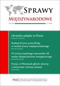 Sprawy Międzynarodowe 1/2014 - Patrycja Grzebyk - eprasa