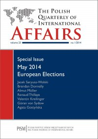 The Polish Quarterly of International Affairs 1/2014 - Agata Gostyńska - eprasa