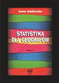 Statystyka dla geografów - Iwona Jażdżewska - ebook
