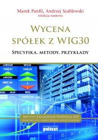 Wycena spółek z WIG 30 - Marek Panfil - ebook