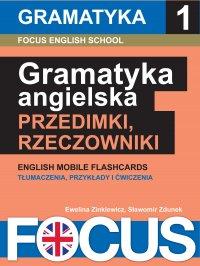 Angielska gramatyka: przedimki i rzeczowniki. Zestaw 1 - Ewelina Zinkiewicz - ebook