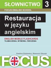 Restauracja w języku angielskim. Zestaw 3 - Ewelina Zinkiewicz - ebook