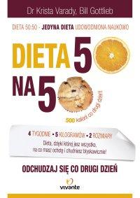Dieta 50:50. Odchudzaj się co drugi dzień! - Krista Varady - ebook
