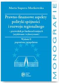 Prawno-finansowe aspekty polityki spójności i rozwoju regionalnego