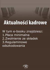Aktualności kadrowe, wydanie listopad 2014 r.