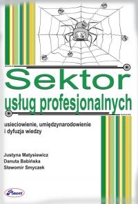 Sektor usług profesjonalnych - Justyna Matysiewicz - ebook