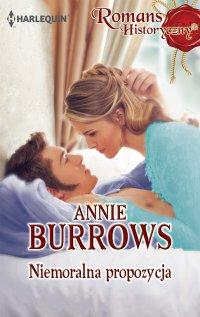 Niemoralna propozycja - Annie Burrows - ebook