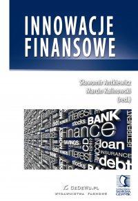 Innowacje finansowe - Sławomir Antkiewicz - ebook