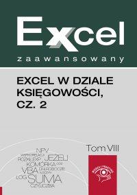 Excel w dziale księgowości. Część 2 - Jakub Kudliński - ebook