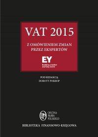 VAT 2015 z omówieniem zmian przez ekspertów EY