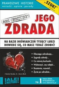 Jego zdrada. Prawdziwe historie, wnioski, opinie, porady... - Marcin Black - ebook