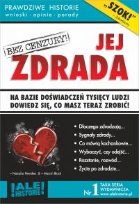 Jej zdrada. Prawdziwe historie, wnioski, opinie, porady... - Marcin Black - ebook