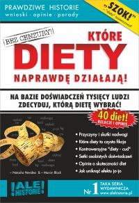 Które DIETY naprawdę działają. Prawdziwe historie, wnioski, opinie, porady... - Marcin Black - ebook