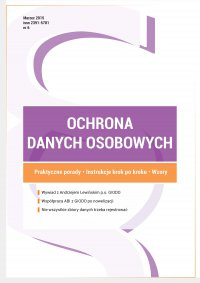 Ochrona danych osobowych - wydanie marzec 2015 r.
