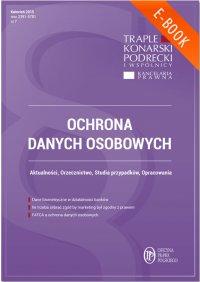 Ochrona danych osobowych - wydanie kwiecień 2015 r.