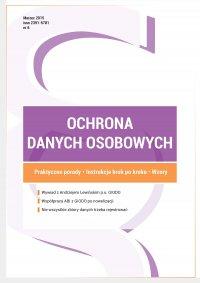 Ochrona danych osobowych - wydanie marzec 2015 r. - Wioleta Szczygielska - ebook