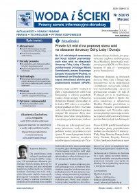 Woda i ścieki. Prawny serwis informacyjno-doradczy. Nr 3/2015