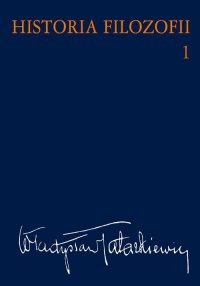 Historia filozofii. Tom 1