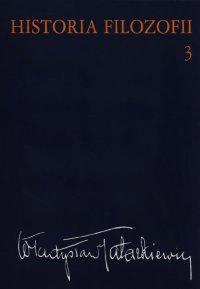 Historia filozofii. Tom 3 - Władysław Tatarkiewicz - ebook