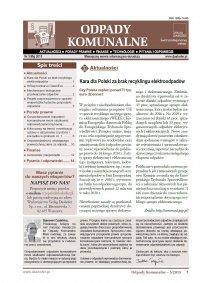 Odpady komunalne. Nr 5/2015