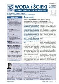 Woda i ścieki. Prawny serwis informacyjno-doradczy. Nr 4/2015