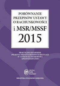 Porównanie przepisów ustawy o rachunkowości i MSR/MSSF 2015