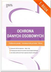 Ochrona danych osobowych - wydanie czerwiec 2015 r.